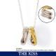 【ディズニー】THE KISS プーさん くまのプーさん&ピグレット リングネックレス DI-SN704-40 【Disney】
