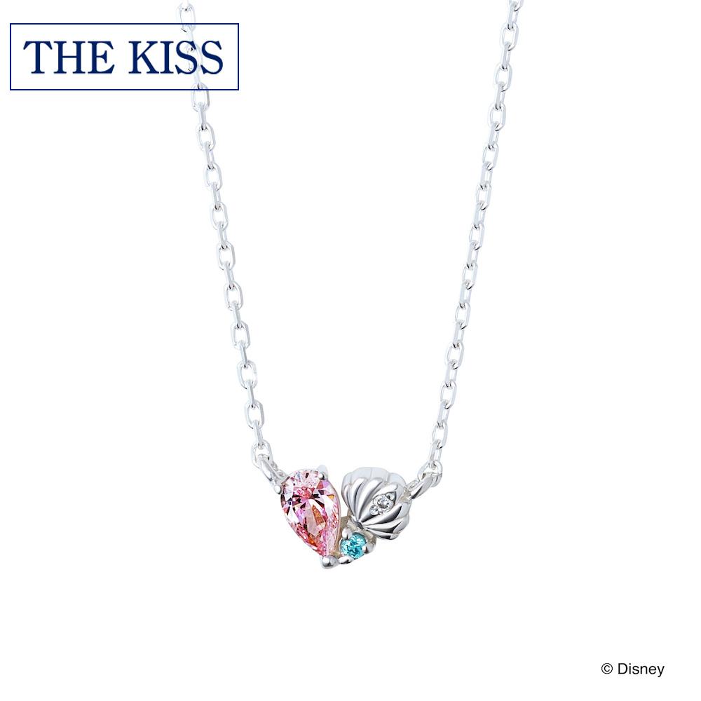 【ディズニー】THE KISS 数量限定 ディズニー アリエル ネックレス 【Disney】