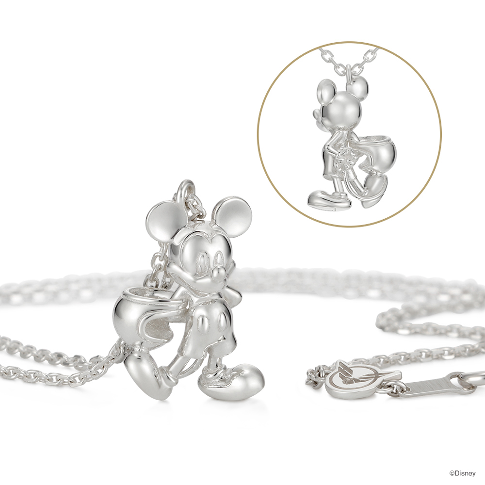 ミッキーマウス(モータースタイル)ネックレス YOSHIDAROBERTO™×U-TREASUE アクセサリー プレゼント