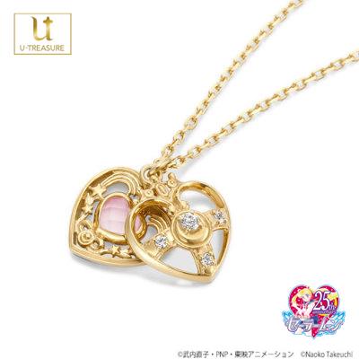 【美少女戦士セーラームーン】セーラームーン ネックレス Cosmic Heart Necklace K18イエローゴールド【SAILOR MOON】