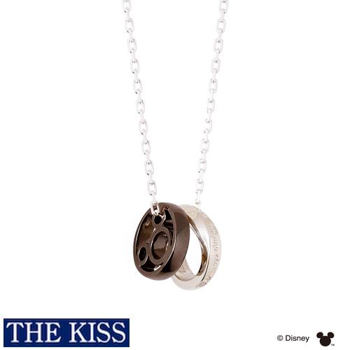 ディズニー 隠れミッキー ネックレス メンズ グッズ アクセサリー THE KISS ザキス ザキッス プレゼント DI-SN1840DM