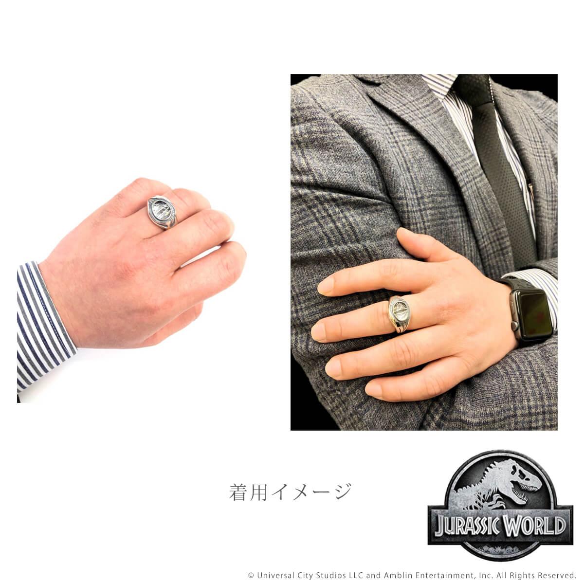 【ジュラシック・ワールド】 アイ シルバーリング 指輪