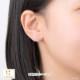 【キングダム ハーツ】ハート / ピアス K18イエローゴールド 片耳(0.5セット) メンズ レディース
