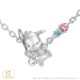 【ポチャッコ】アイスクリーム キャラクター ネックレス プラチナ アクセサリー プレゼント 【POCHACCO】