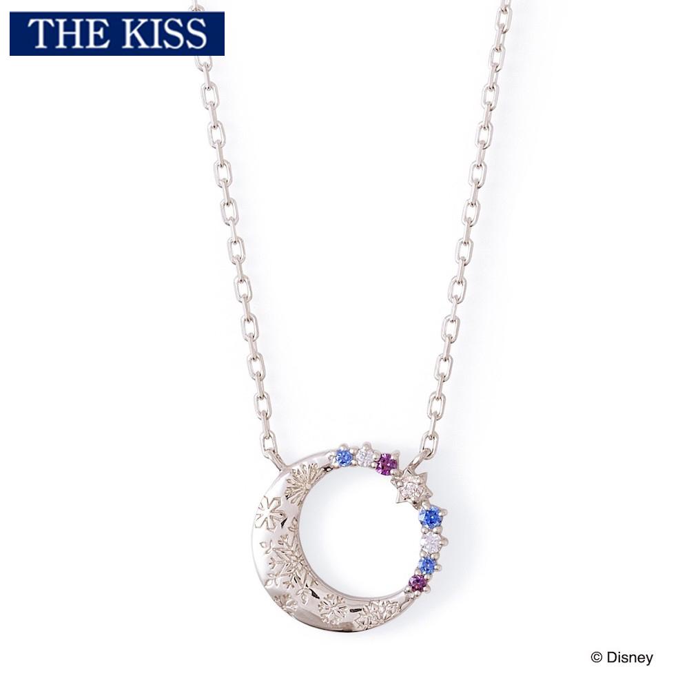 【ディズニー】THE KISS アナと雪の女王 / シルバー ネックレス DI-SN1836DM【Disney】