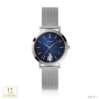 【エヴァンゲリオン】腕時計 シンジとカヲル(duet) 腕時計 メタルメッシュベルト【EVANGELION】