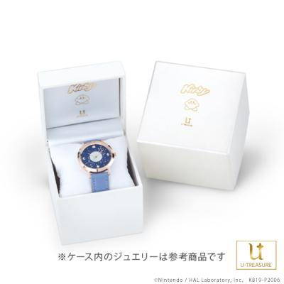 【星のカービィ】 腕時計 Milky Way Wishes 腕時計 ゴールド×ベルトカラーブラウン レディース アクセサリー