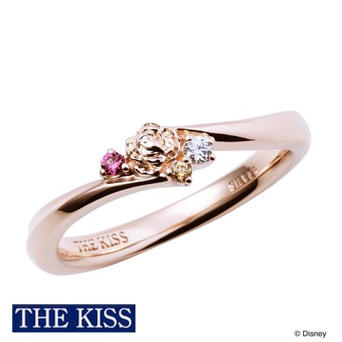 【ディズニー】THE KISS プリンセス ベル 美女と野獣 リング 指輪 DI-SR1506CZ 【Disney】