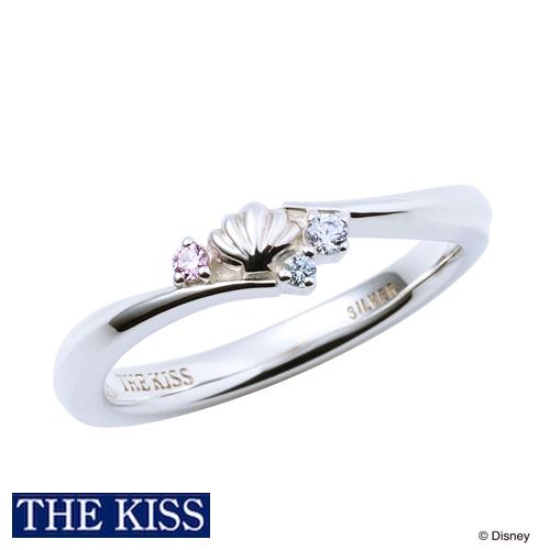 【ディズニー】THE KISS ディズニープリンセス アリエル / シルバー リング DI-SR1505CZ【Disney】