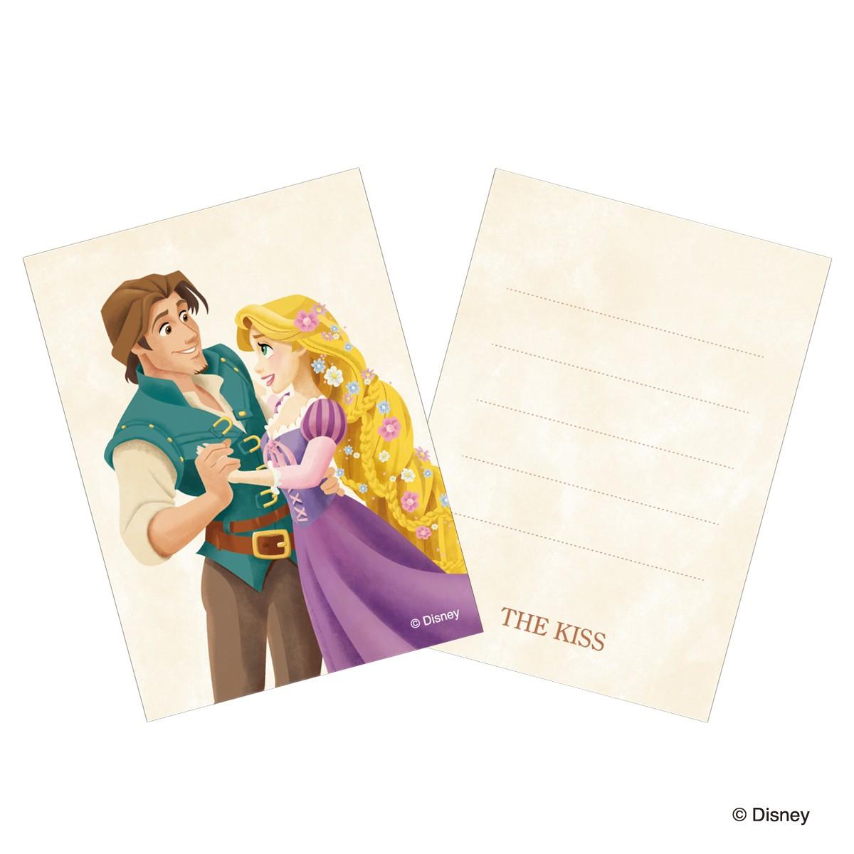 【ディズニー】THE KISS ディズニー ペアネックレス ラプンツェル DI-SN2410CB-2411CB 【Disney】