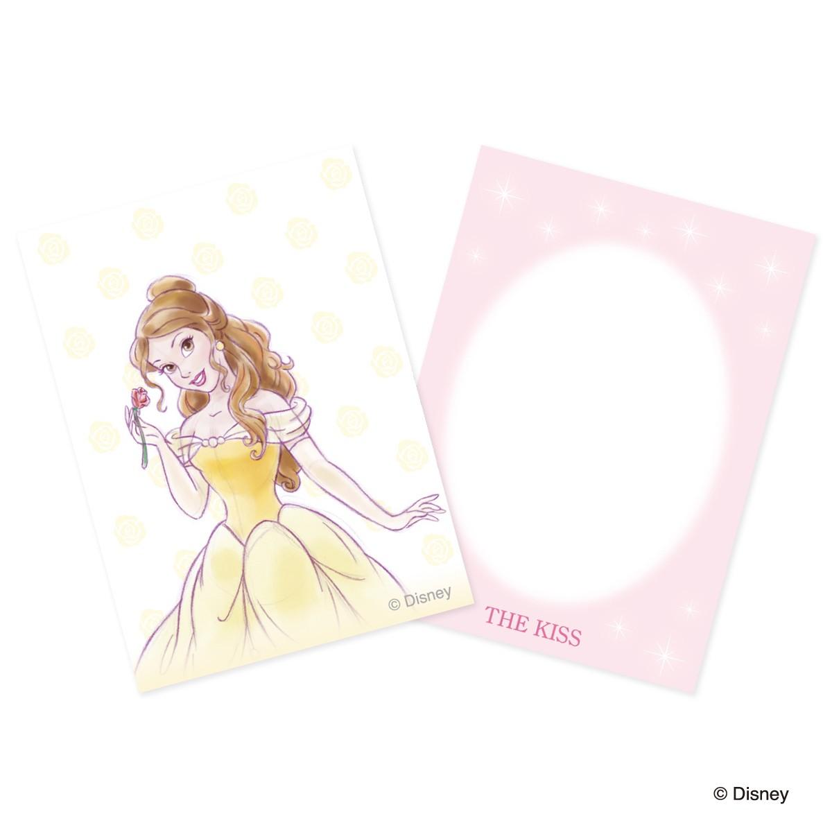 【ディズニー】THE KISS プリンセス ベル ネックレス DI-SN1816CB 【Disney】