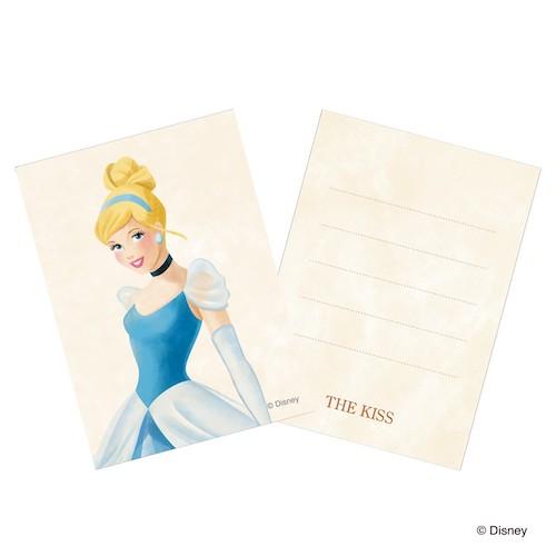 シンデレラ ペア ネックレス ディズニー プリンセス Disney THE KISS ザキス ザキッス メンズ 男性 レディース 女性 ペアアクセサリー プレゼント 20代 30代 彼女 誕生日 記念日 DI-SN715DM-716DM
