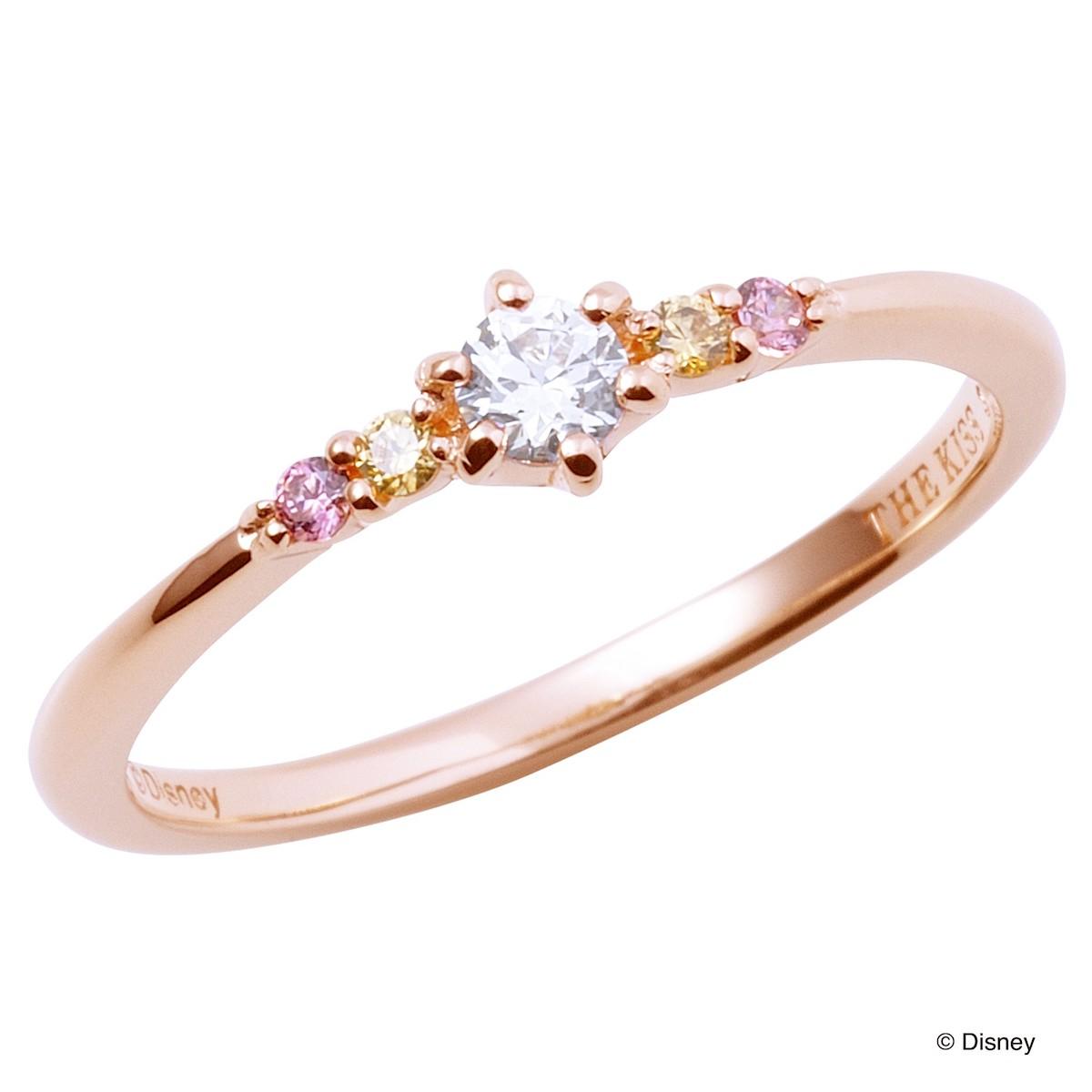【ディズニー】THE KISS プリンセス ベル 美女と野獣 リング 指輪 DI-SR1213CB 【Disney】
