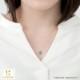 ムーミン ネックレス MOOMIN カラーストーンコレクション オーバル(ムーミン) K18イエローゴールド ブルートパーズ 宝石 ジュエリー アクセサリー レディース 大人 女性 母 誕生日 プレゼント