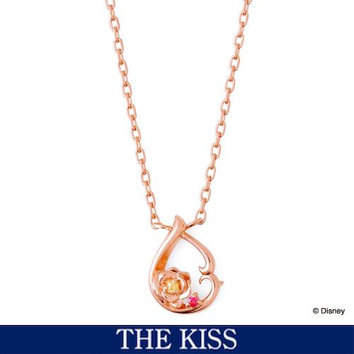 ディズニー 映画「美女と野獣」 ネックレス Disney THE KISS ザ・キッス プレゼント DI-SN1847CB