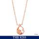 【ディズニー】THE KISS 映画「美女と野獣」 ネックレス DI-SN1847CB 【Disney】