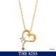 ディズニー プリンセス ジャスミン ネックレス アラジン Disney THE KISS ザ・キッス プレゼント DI-SN1838DM