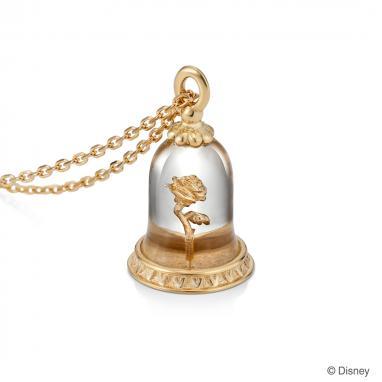 【ディズニー】ケイウノ Rose 〜美女と野獣-ローズ-〜 ネックレス【Disney】