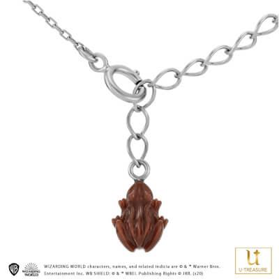 【ハリー・ポッター】 ネックレス カエルチョコレート Chocolate Frog Necklace シルバー レディース【Harry Potter】