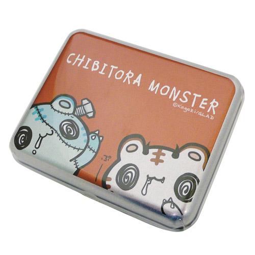 チビトラ STORE限定 シルバー缶ケース(MONSTER RED)