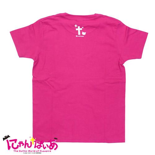 にゃんぱいあ Tシャツ(ピンク)