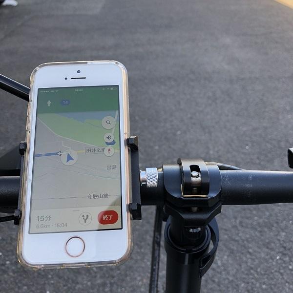 glafitバイク対応スマートフォンホルダー