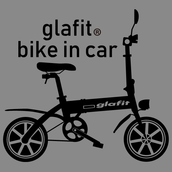 glafit bike in car カッティングステッカー