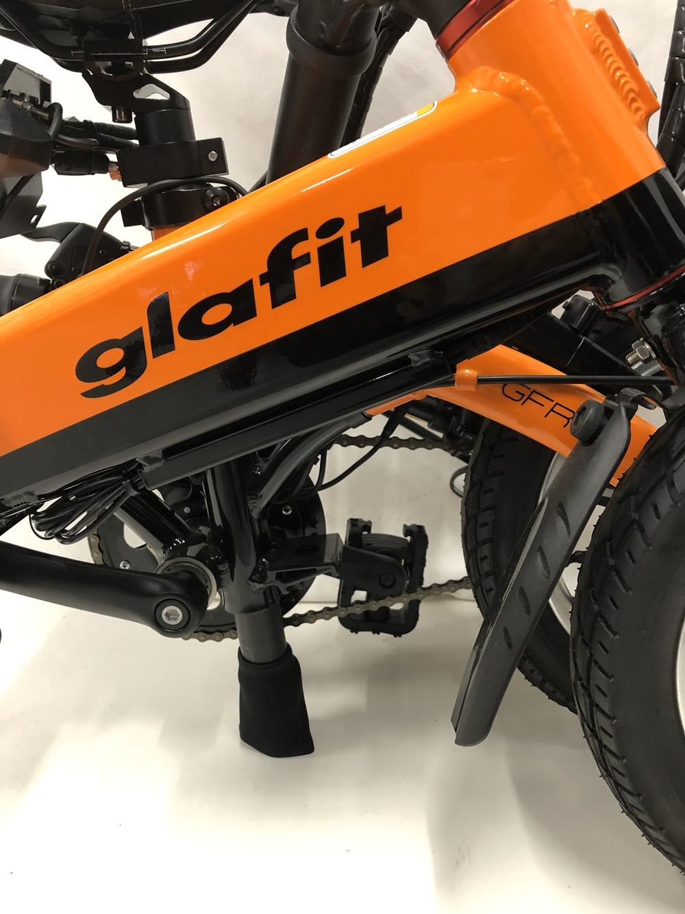 glafitオリジナル 折り畳み式輪行ソフトバッグLG