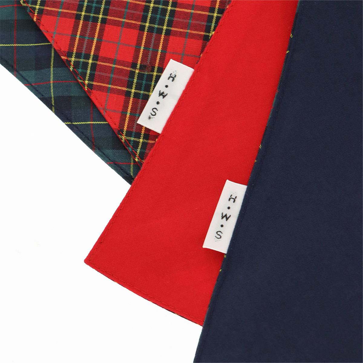 HOUSE WEAR STUDIO ハウスウェアスタジオ 日本製 チェック柄 三角巾 綿100% レディース 70370242【ゆうパケット・4点まで】