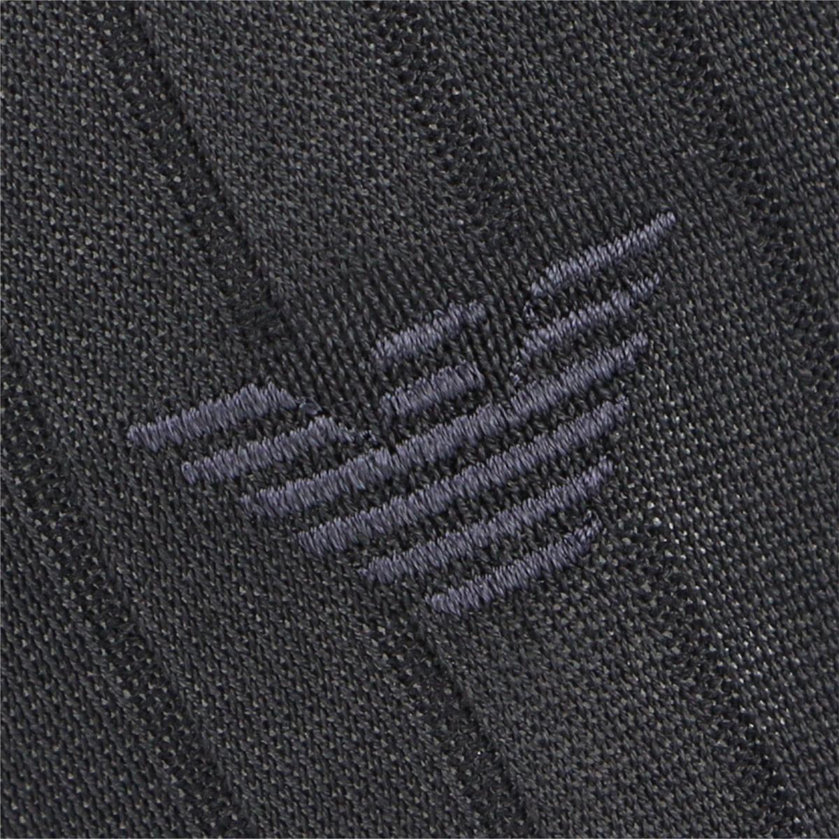 EMPORIO ARMANI ( エンポリオ アルマーニ ) 抗菌防臭 メンズ ビジネス ソックス 靴下 Dress リブ クルー丈 ソックス 2312-410 【ゆうパケット・4点まで】