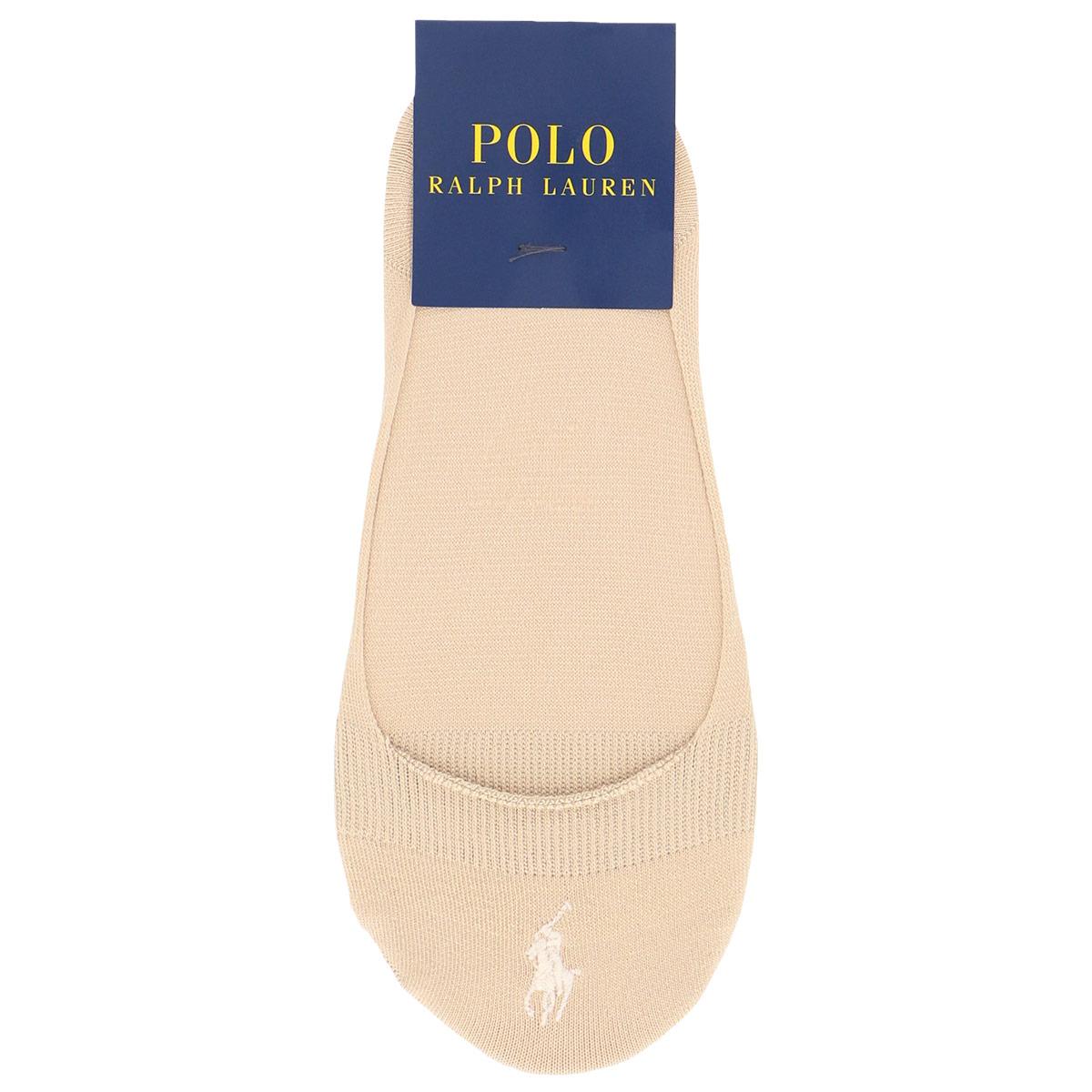POLO RALPH LAUREN ポロ ラルフローレン|レディース 女性 婦人 靴下|消臭加工|ワンポイント刺繍|浅履きタイプ|フットカバー カバーソックス|3207-731 21M-27 【ゆうパケット・4点まで】