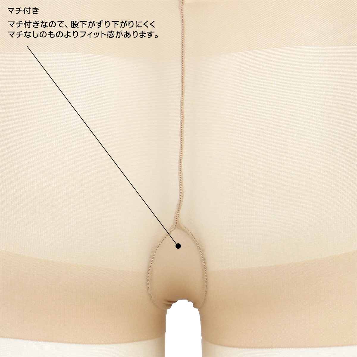 NAIGAI COMFORT ナイガイ コンフォート レディース ウエストゆったり ストッキング 1003003【ゆうパケット・4点まで】
