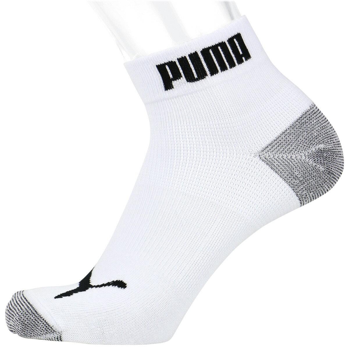 PUMA ( プーマ ) メンズ 抗菌防臭・アーチサポート・高機能 パフォーマンス 3足組ショート丈 ソックス マラソン ランニング ソックス 2822-642 【ゆうパケット・1点まで】