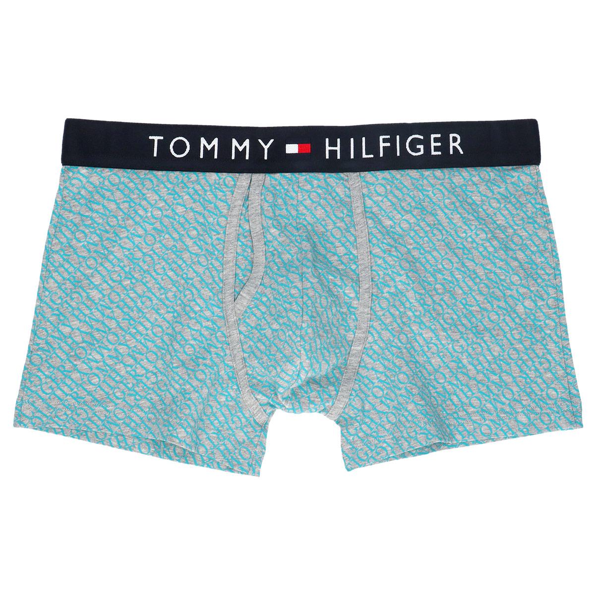 TOMMY HILFIGER|トミーヒルフィガー TOMMY COTTON KEYHOLE TRUNK PRINT トミー コットン キーホール ボクサーパンツ 男性 メンズ 53302018【ゆうパケット・2点まで】