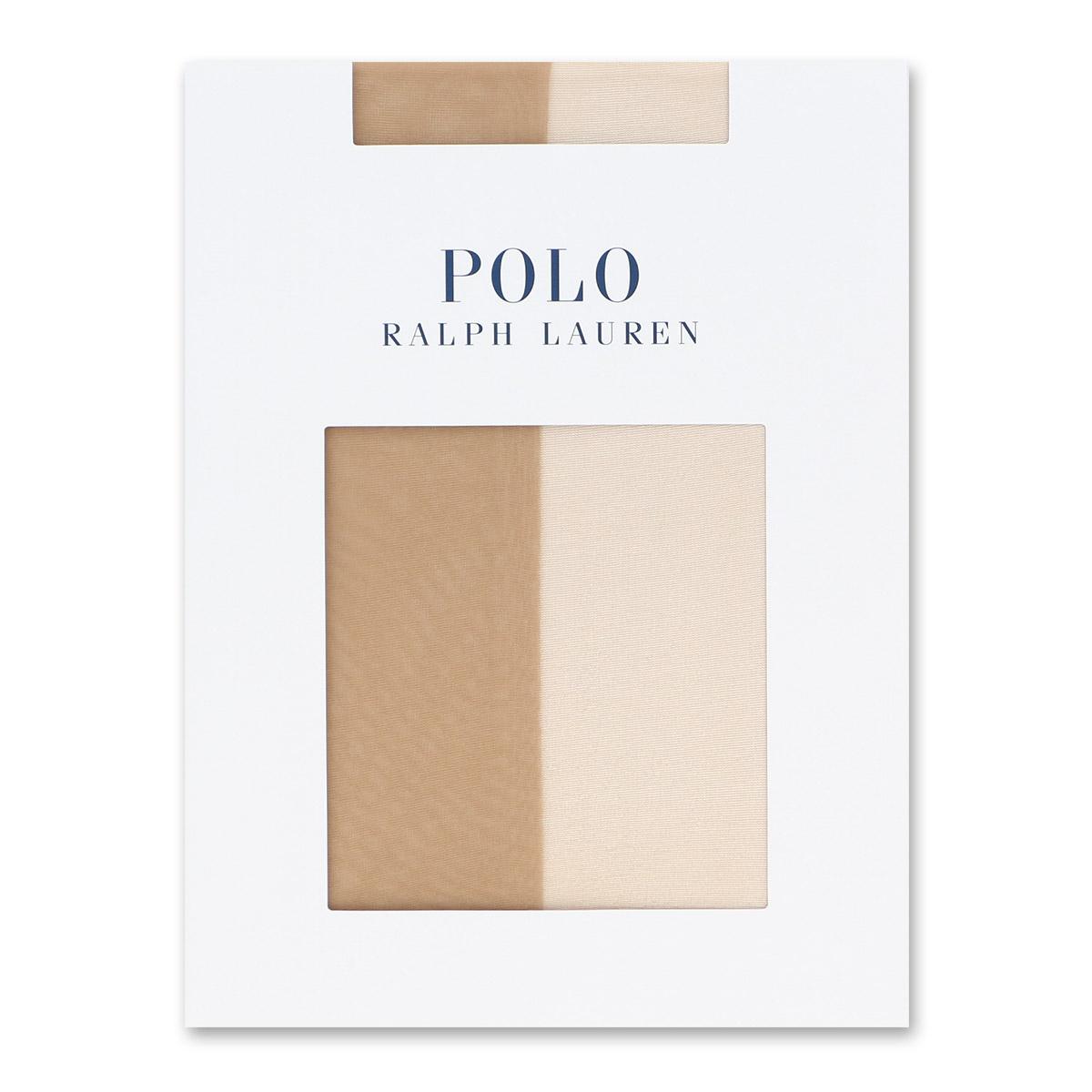 POLO RALPH LAUREN ポロ ラルフローレン レディース ソックス 日本製 プレーン ウルトラシアーサポート 01832555 (1832111)