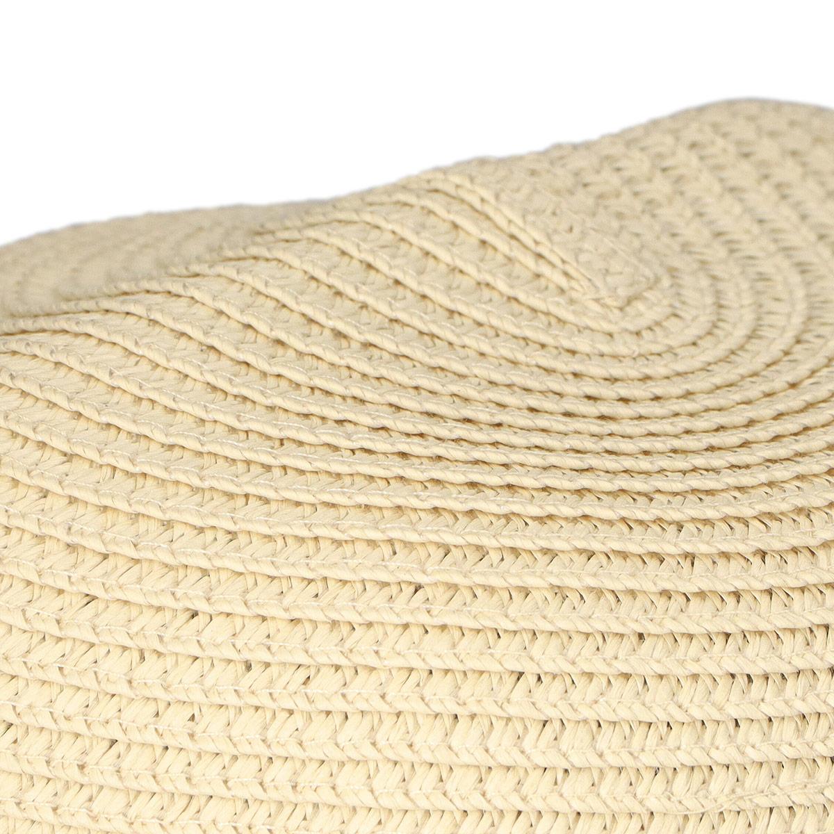 NAIGAI COMFORT ナイガイ コンフォート クルっとコンパクトに折りたためる サイズ調整テープ付 UVケア つば広 サマーハット ペーパーハット 帽子 レディース 女性 婦人 03072806【ゆうパケットお取り扱い不可】