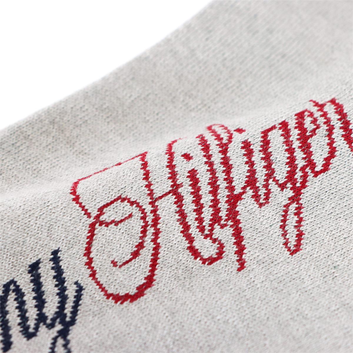 TOMMY HILFIGER トミーヒルフィガー カジュアル 足底メッシュ 縦ロゴ クルー丈 ソックス 靴下 男性 紳士 メンズ 02552576【ゆうパケット・4点まで】