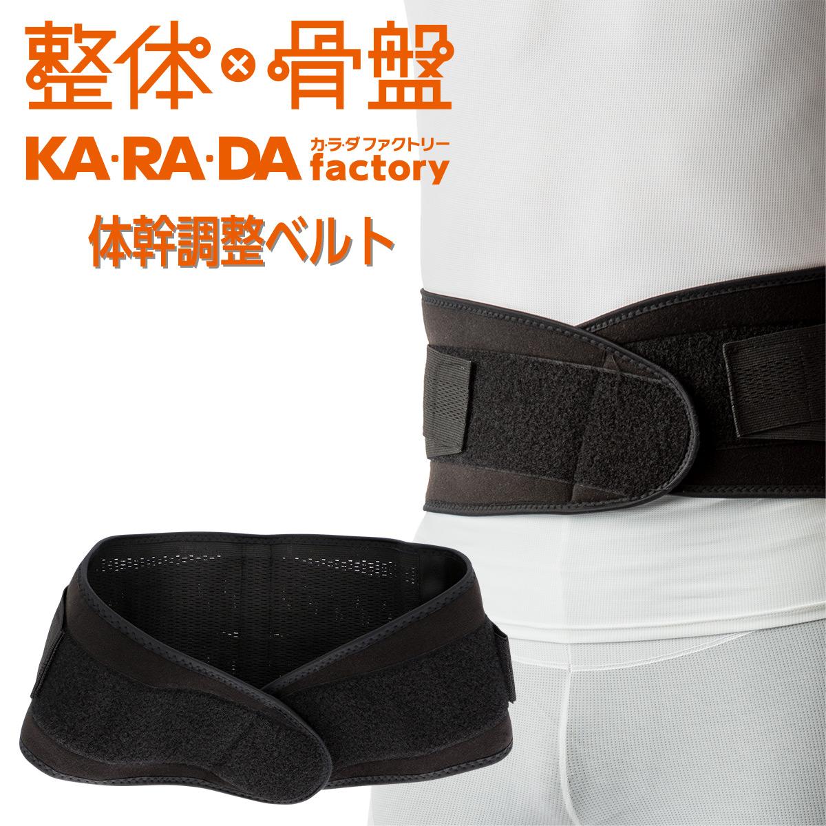 KARADAファクトリー(カラダファクトリー) 背骨すっきり 体幹安定ですっきりした立ち姿に 体幹調整ベルト メンズ 男性 紳士 2814-502 【ゆうパケットお取り扱い不可】