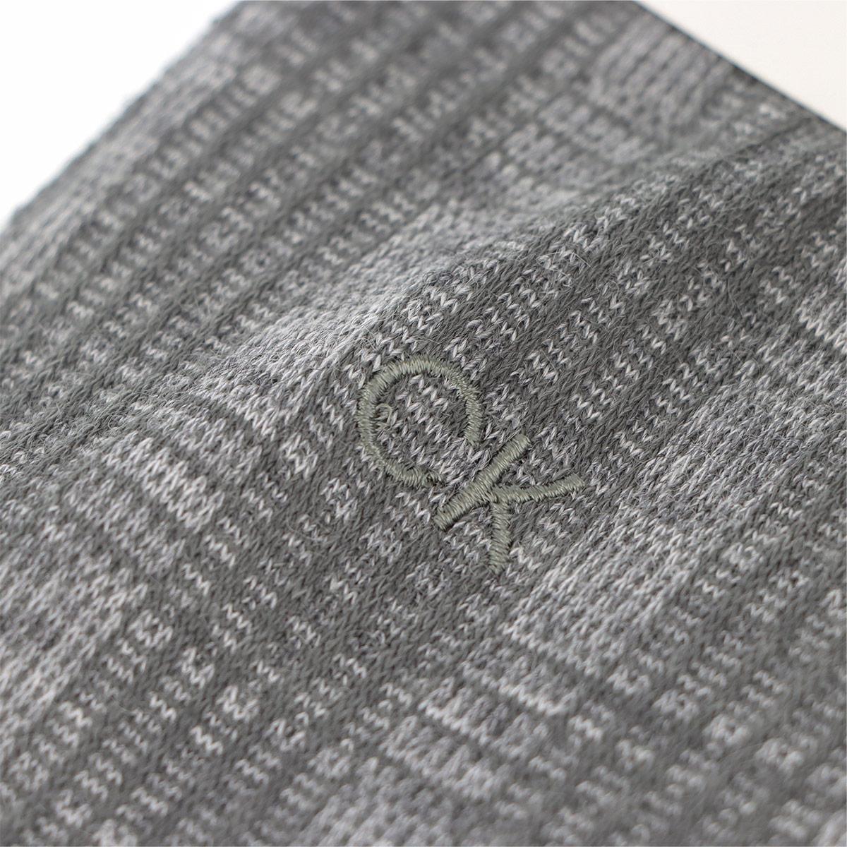 Calvin Klein カルバンクライン 日本製 ドレス チェック柄 クルー丈 ソックス 靴下 メンズ 男性 紳士 02565555【ゆうパケット・4点まで】