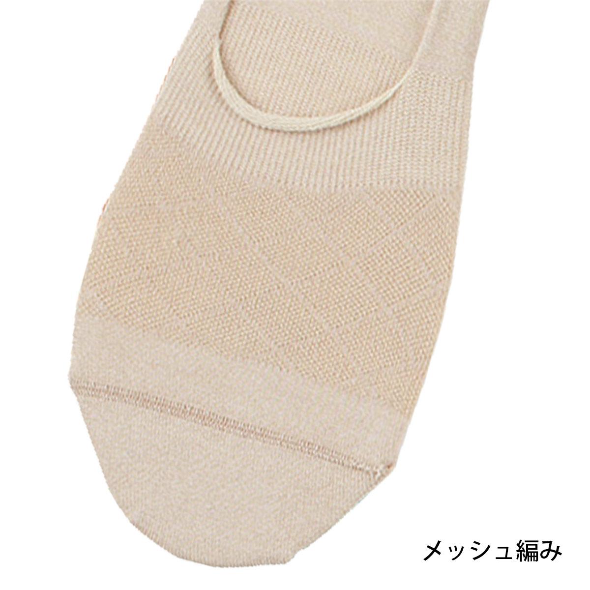 Calvin Klein (カルバンクライン) Simple Mesh シンプル・メッシュ フットカバー レディース ソックス 靴下 3265-431【ゆうパケット・6点まで】