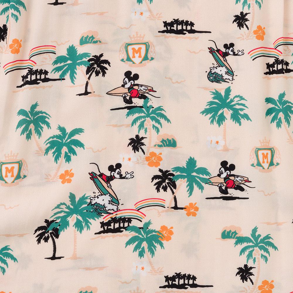 アメリカ製 アロハシャツ 半袖 シャツ アロハ ハワイアンシャツ DISNEY柄 ディズニー[TWO PALMS / トゥーパームス][あす着対応] セール対象