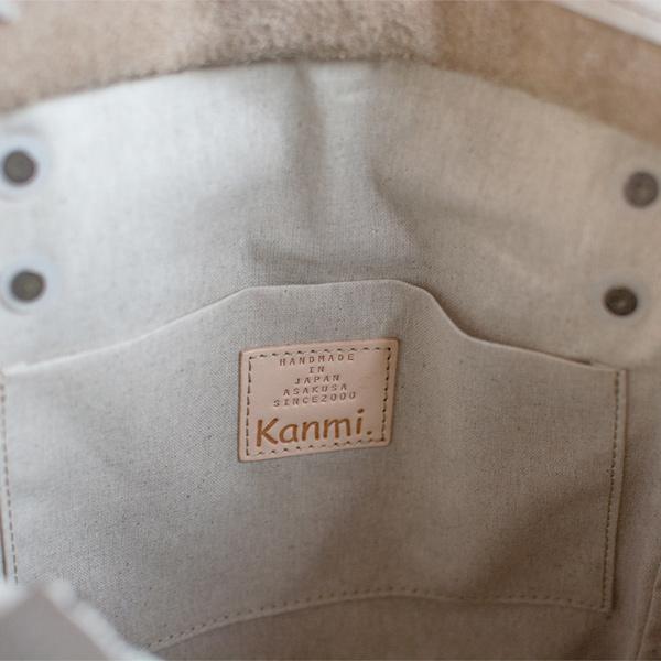 Kanmi./カンミ ベーカリー ワンプリーツバッグ B20-31 かんみ バッグ ブランド ギフト プレゼント 本革 レザー 日本製 [あす着対応]