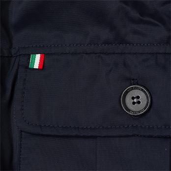 イタリア製 中綿入り エアロブルゾン[HOT PLUME/ホットプルム][あす着対応] セール対象