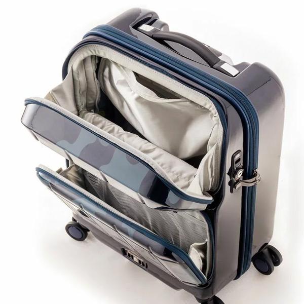 PANTHEON パンテオン PTS-6005 35L スーツケース キャリーケース キャリーバッグ ハードキャリー 機内持ち込み可 ダブルフロントポケット [A.L.I/アジアラゲージ][あす着対応]