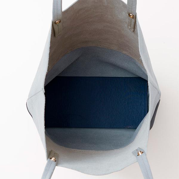 イタリア製 本革 縦型 バイカラー トートバッグ  タッセル付き [GIUDI/ジウディ][あす着対応][保証対象]