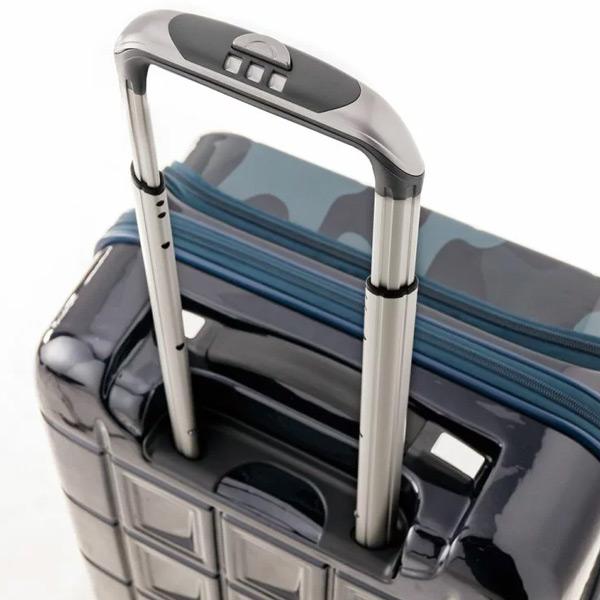 PANTHEON パンテオン PTS-6006 54L+8L 拡張機能 スーツケース キャリーケース キャリーバッグ ハードキャリー ダブルフロントポケット [A.L.I/アジアラゲージ]