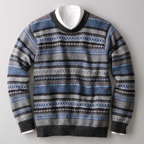 アルパカ フェアアイル セーター IFER Knitwear アイファーニットウェア [あす着対応]