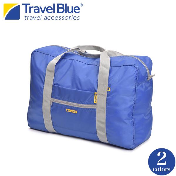 折りたたみ式ボストンバッグ  [TRAVEL BLUE] バッグ 折りたたみ ショッピングバッグ 旅行用品 旅行便利グッズ 海外旅行グッズ トラベル  [あす着対応]