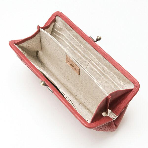 Kanmi. カンミ コトリレース がま口 ロングウォレット WL18-89  [がま口 財布  かわいい ブランド 母の日 プレゼント] [あす着対応]