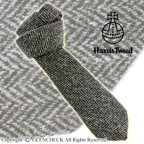 [ハリスツイード]英国製 HARRIS TWEED ネクタイ 【GREENGROVE】 Rodel/HTNT09/グリーングローブウィーバーズ グレンフィールド[あす着対応]